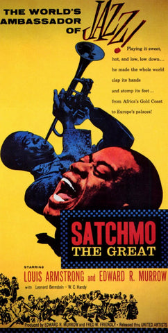Satchmo the Great 11x17 Movie Poster (1957)