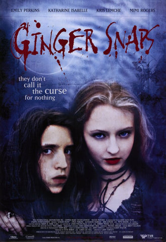 Ginger Snaps 11x17 Movie Poster (2000)