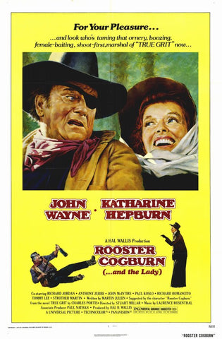 Rooster Cogburn 11x17 Movie Poster (1975)