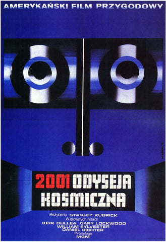 2001: A Space Odyssey (Foreign) 11x17 Movie Poster (1968)