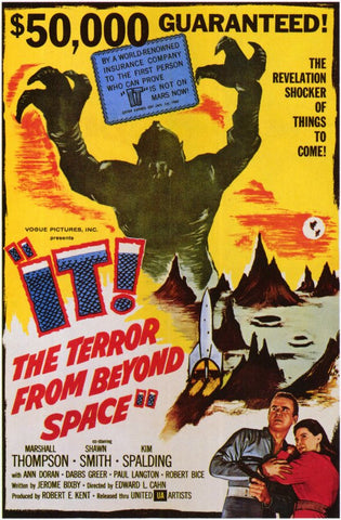 It! The Terror From Beyond Space 11x17 Movie Poster (1958)