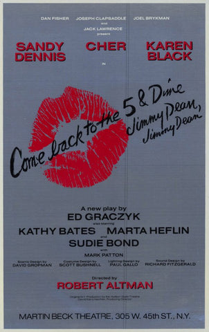 Come Back to the 5 & Dime Jimmy Dean 11x17 Broadway Show Poster (1982)