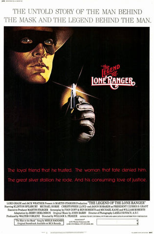 Legend of the Lone Ranger 11x17 Movie Poster (1980)