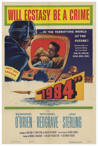1984 27x40 Movie Poster (1956)