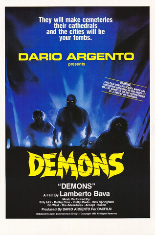 Demons 27x40 Movie Poster (1985)