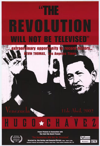 The Revolution Will Not Be Televised 11x17 Movie Poster (2003)