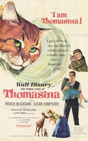 The Three Lives of Thomasina 11x17 Movie Poster (1964)