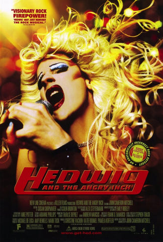 Hedwig and the Angry Inch 27x40 Movie Poster (2001)