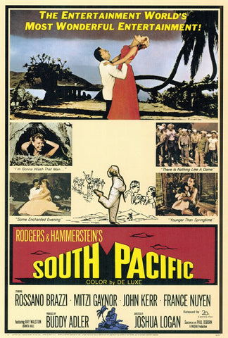 South Pacific 27x40 Movie Poster (1959)