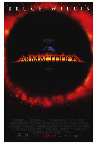Armageddon 27x40 Movie Poster (1998)