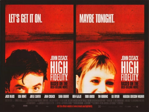 High Fidelity 11x17 Movie Poster (2000)