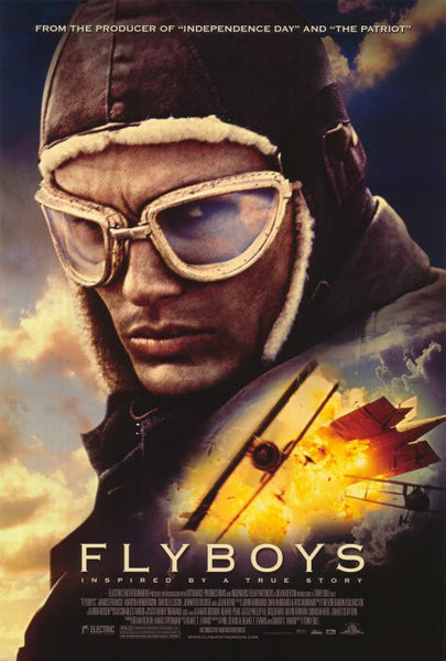 Flyboys 27x40 Movie Poster 2006 Etriggerz Com