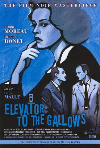 Elevator to the Gallows 27x40 Movie Poster (1958)