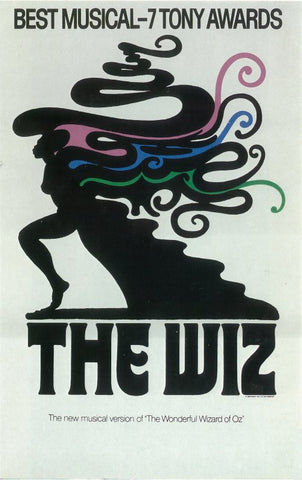 The Wiz 14x22 Broadway Show Poster (1975)