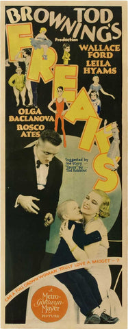 Freaks 14x36 Movie Poster (1932)