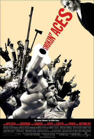 Smokin' Aces 11x17 Movie Poster (2007)