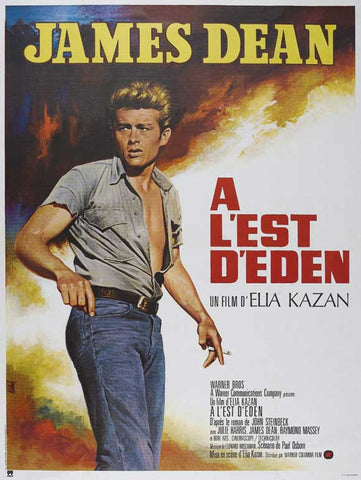 East of Eden (French) 11x17 Movie Poster (1955)