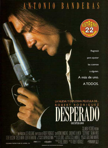 Desperado (Spanish) 11x17 Movie Poster (1995)