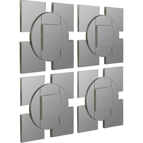 Tupan Wall Mirrors (Set of 4)