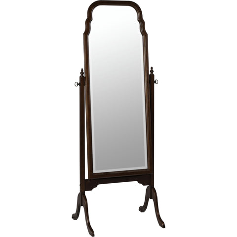 Queen Anne Cheval Floor Mirror