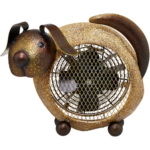 Dog Figurine Heater Fan