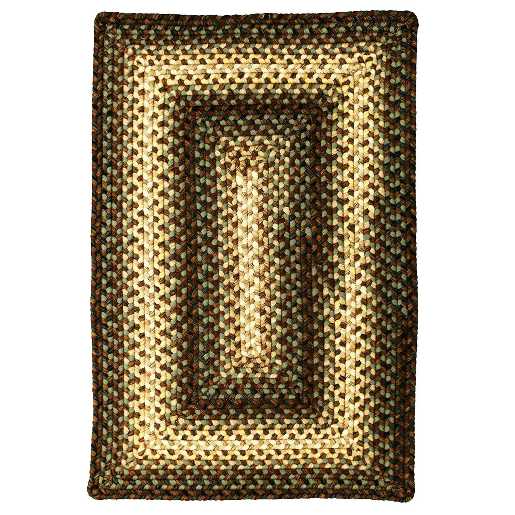 Driftwood Braided Indoor Outdoor Ultra Durable Rectangle