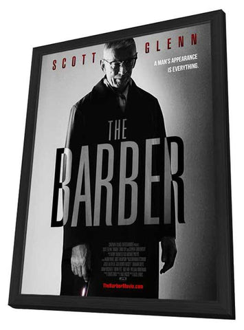 The Barber 11x17 Framed Movie Poster (2015)