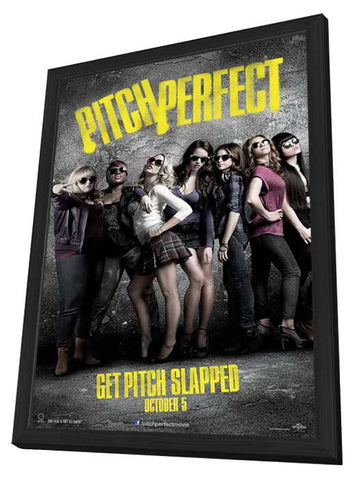 Pitch Perfect 11x17 Framed Movie Poster (2012)