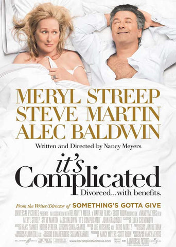 It's Complicated 27x40 Movie Poster (2009)