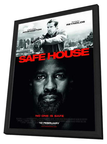 Safe House 11x17 Framed Movie Poster (2012)