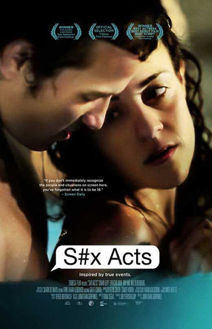 S#x Acts 11x17 Framed Movie Poster (2013)