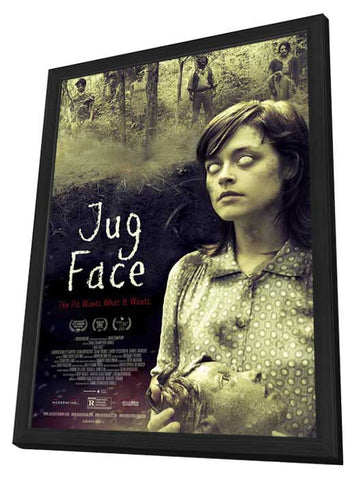 Jug Face 11x17 Framed Movie Poster (2013)