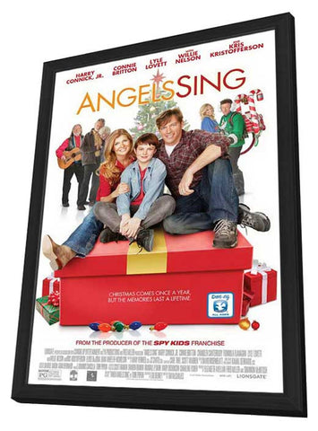 Angels Sing 11x17 Framed Movie Poster (2013)