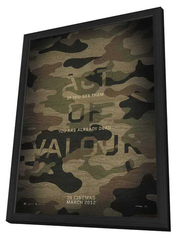 Act of Valor 11x17 Framed Movie Poster (2012)