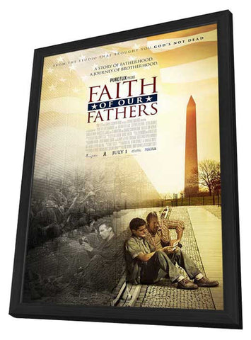 Faith of Our Fathers 11x17 Framed Movie Poster (2015)