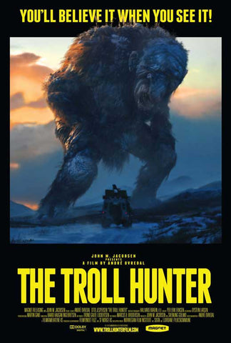 The Troll Hunter 11x17 Movie Poster (2010)
