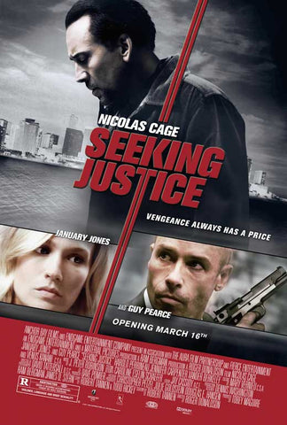 Seeking Justice 11x17 Movie Poster (2011)