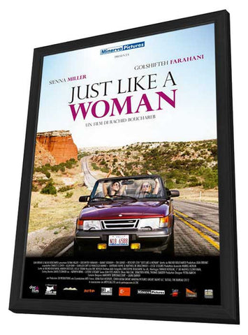 Just Like a Woman (Italian) 11x17 Framed Movie Poster (2013)