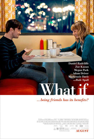 What If 11x17 Movie Poster (2014)