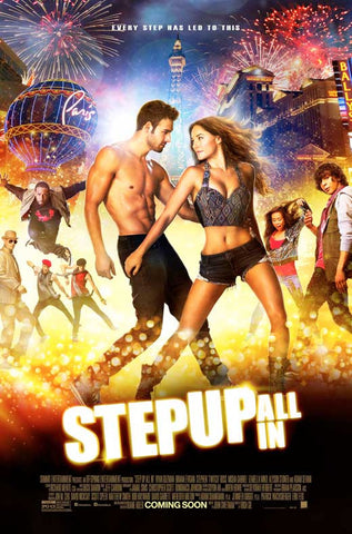 Step Up All In 27x40 Movie Poster (2014)
