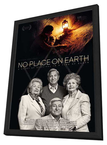 No Place on Earth (UK) 27x40 Framed Movie Poster (2013)