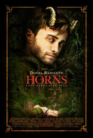Horns 27x40 Movie Poster (2014)