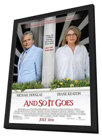 And So It Goes… 27x40 Framed Movie Poster (2014)