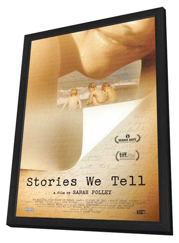 Stories We Tell (Canadian) 27x40 Framed Movie Poster (2013)