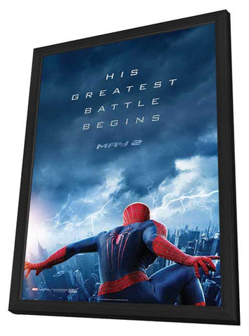 The Amazing Spider-Man 2 11x17 Framed Movie Poster (2014)