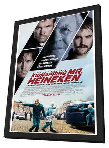 The Company You Keep (Swedish) 27x40 Framed Movie Poster (2013)