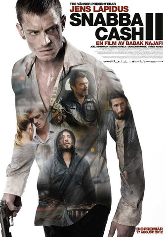 Easy Money: Hard to Kill (Swedish) 27x40 Movie Poster (2014)