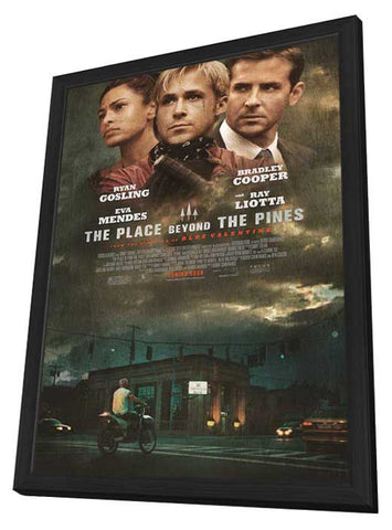 The Place Beyond the Pines 11x17 Framed Movie Poster (2013)