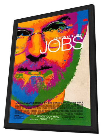 Jobs 27x40 Framed Movie Poster (2013)