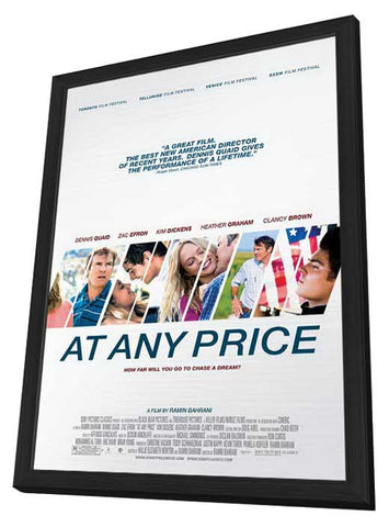 At Any Price 11x17 Framed Movie Poster (2013)